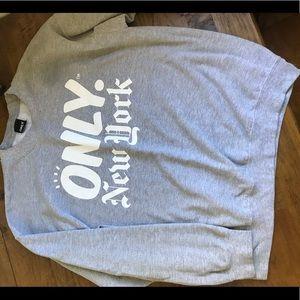 Only NY Crew Neck Sweatshirt